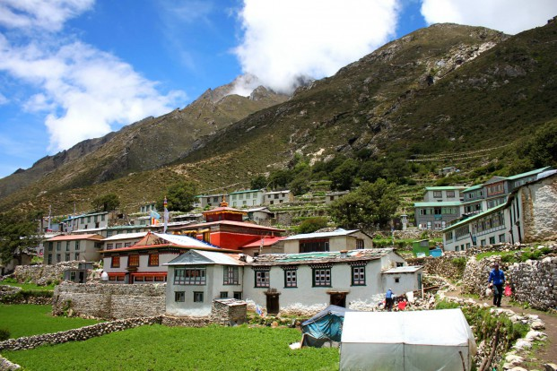 The village of Upper Pangboche