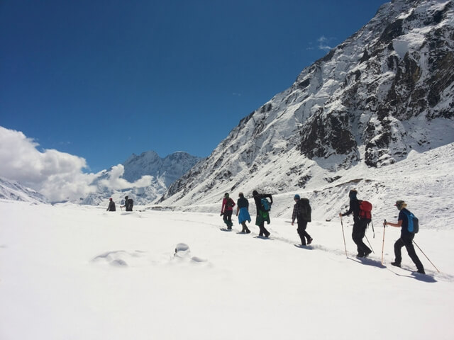 adventure trekking