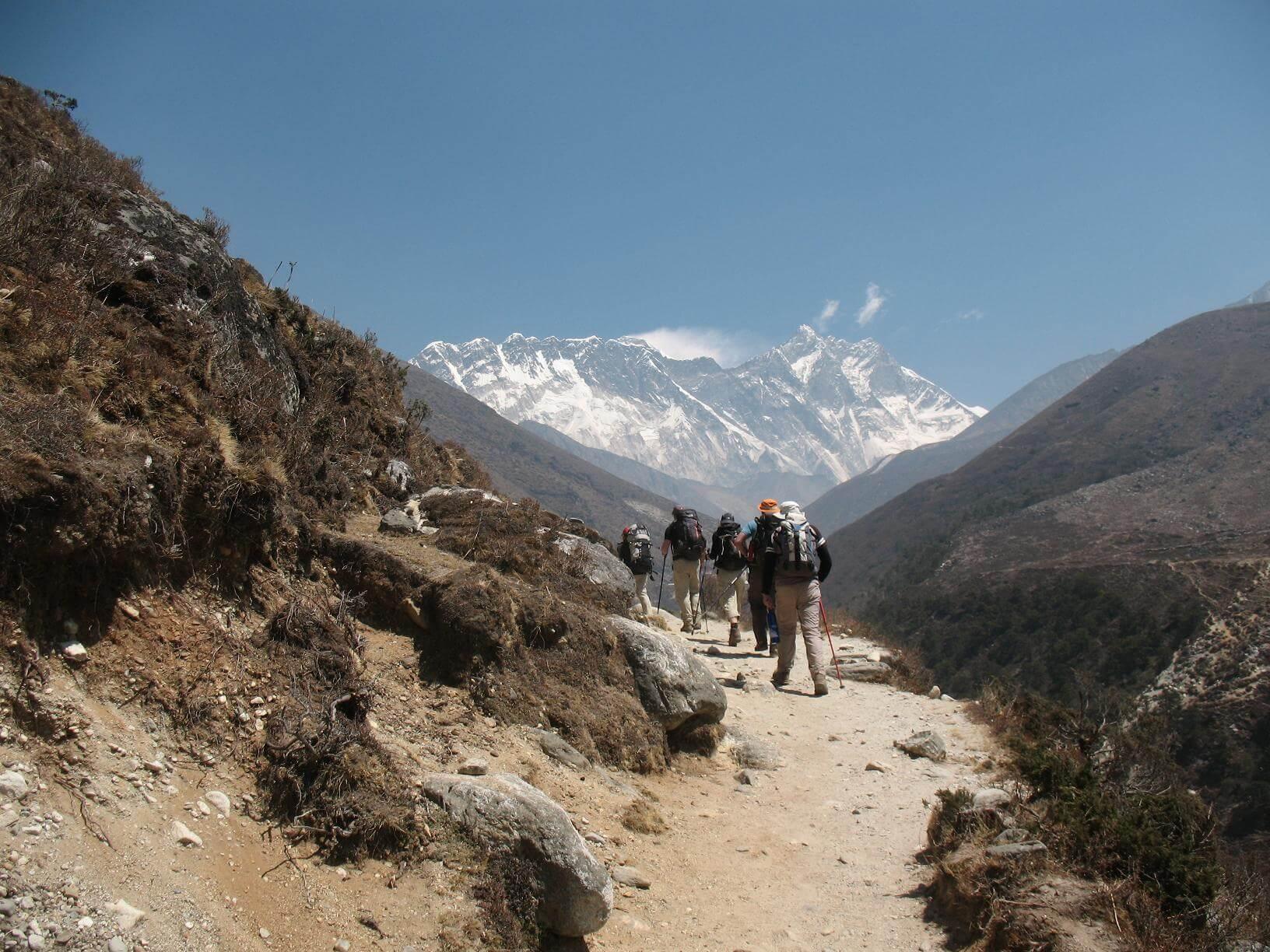 På väg mot Dingboche