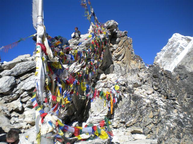 Toppen av Kala Pathar! Foto: Dan Ekstrom