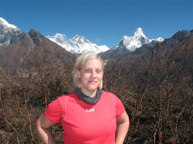 Hi On Life's praktikant Emelie vid Everest View Hotel