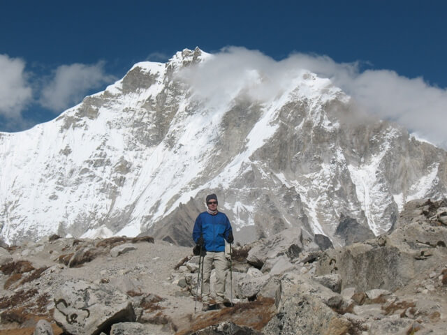 Joakim pa vag till Everest Base Camp
