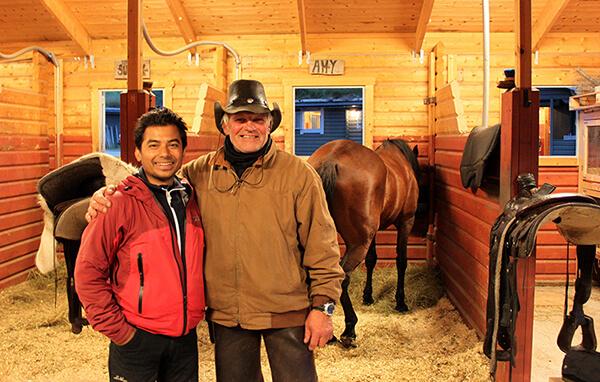 En Klättrare från Himalaya & en äkta Cowboy fro Piteå som öppnat en ranch i Idre!