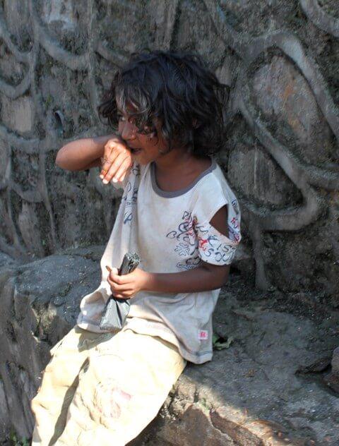 Nepalesisk pojk