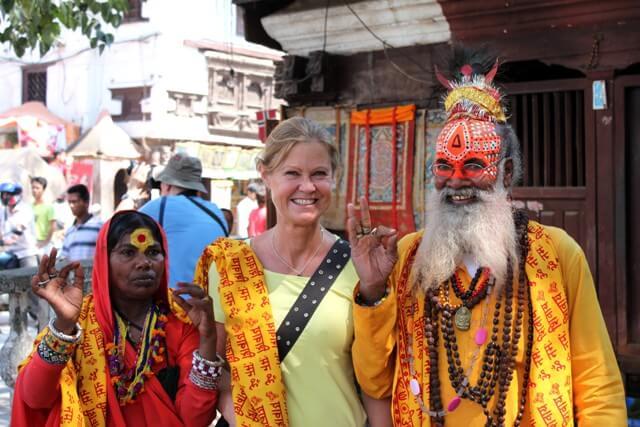 """Kia tillsammans med en """"Hinduisk Holy Man/Woman"""""""