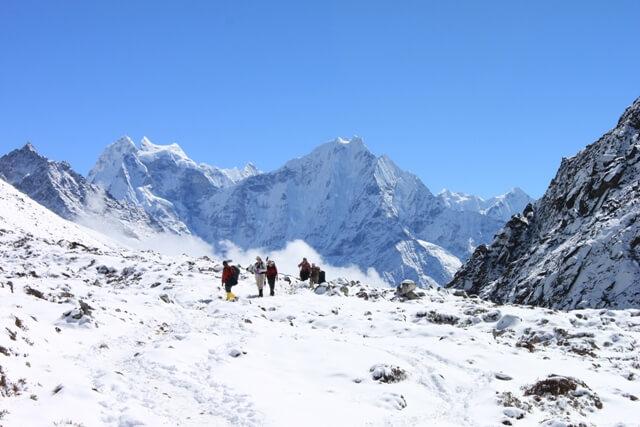 Ute pa promenad bland Himalayas berg - Samre kan man ha det...
