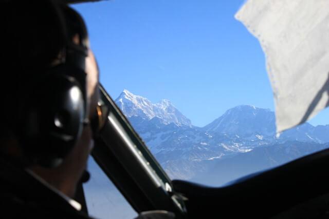 Flyget till Lukla