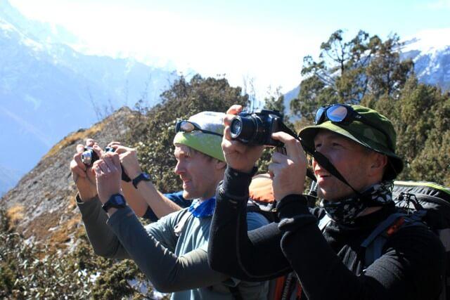 Wow! Everest, Ama Dablam och Island Peak!!!