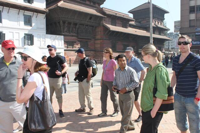 Guidad rundtur i Kathmandu