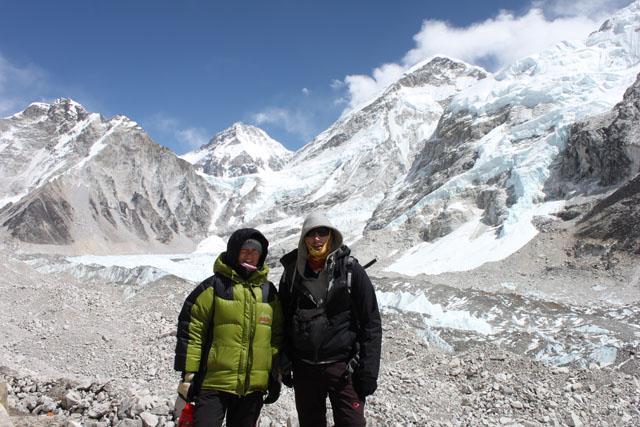 Susanna och Jonas pa 5300 meter