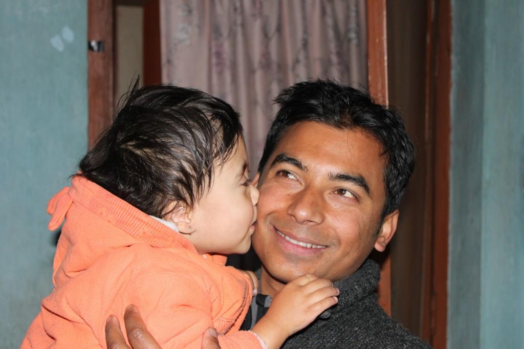 Sony tackar Saran med en rejal puss pa kinden :)