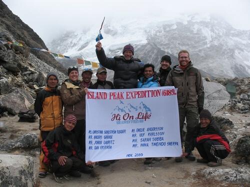 Alla Expeditionsmedlemmarna samlade!