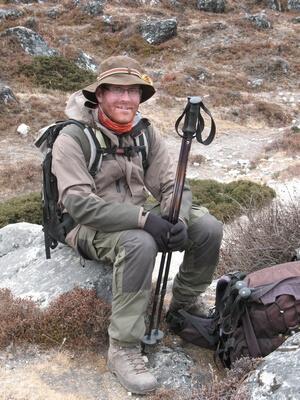 Expeditionsmedlem Johan Lauritz