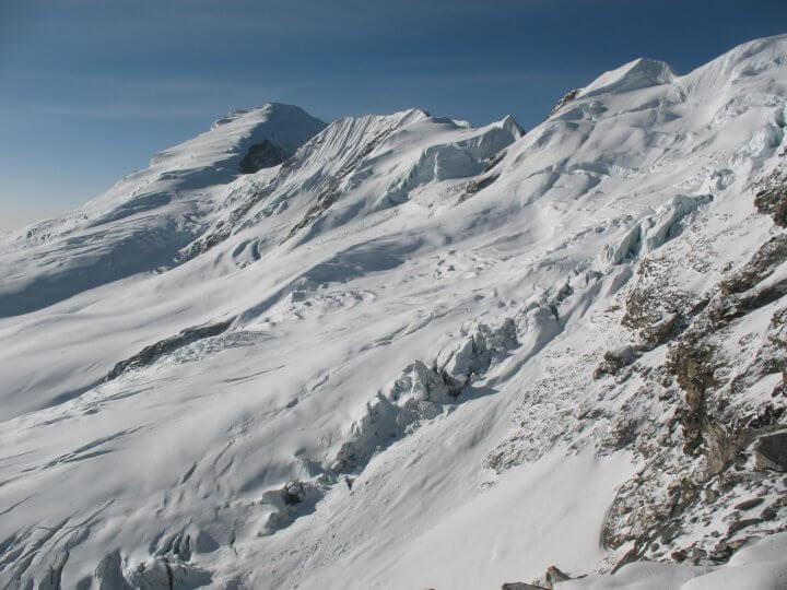 Vyer från Mera Peak High Camp