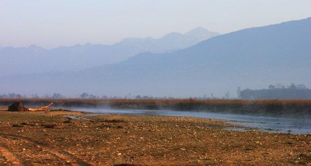 Gryning i Chitwan