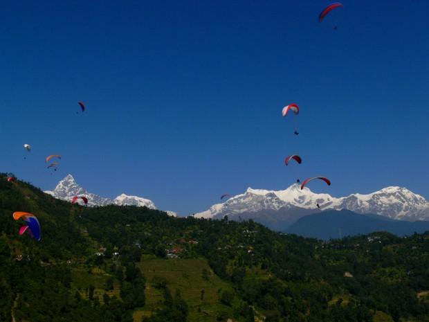 Liten paragliding