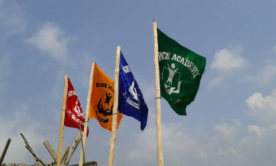 grace academy flaggor