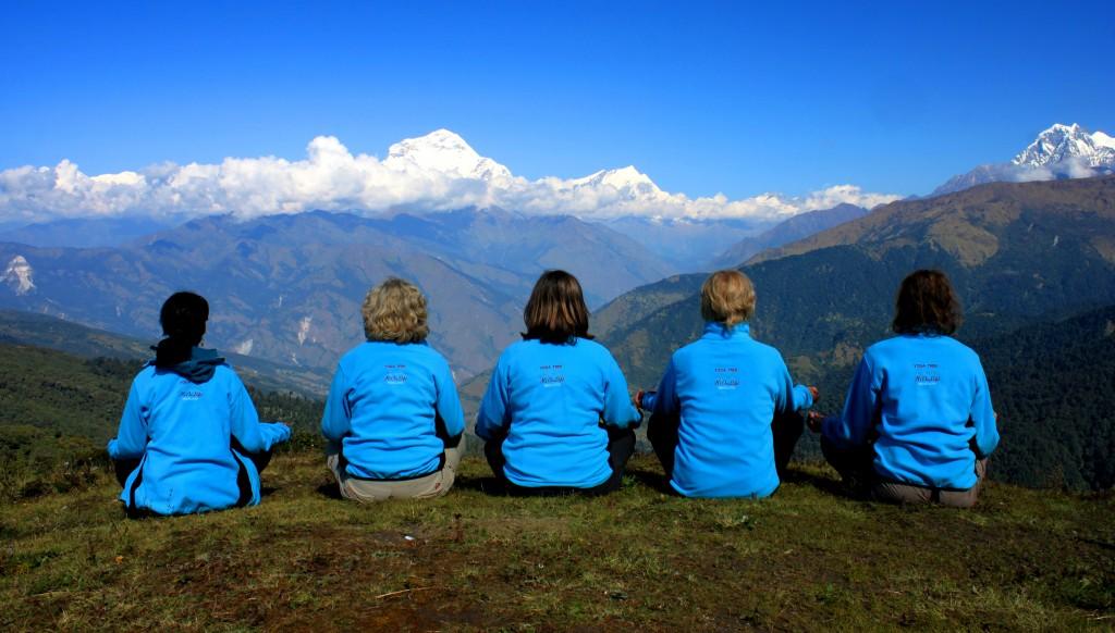 Yoga trek - Annapurna Foothill