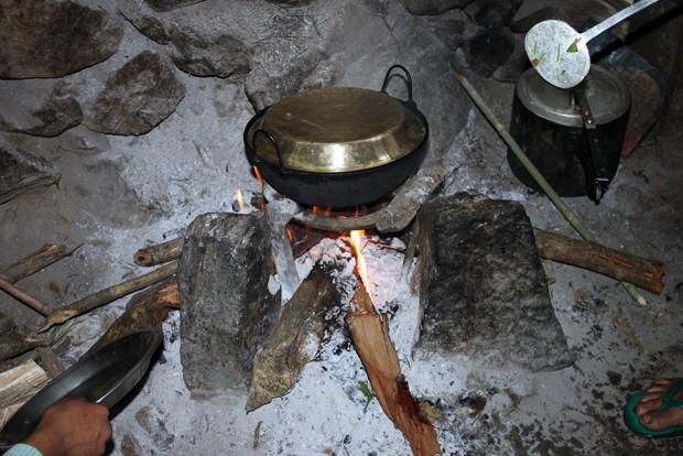 Nothing tastes better than fresh food cooked in wood fire