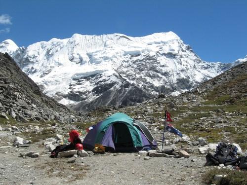 Island Peak Base Camp - Sämre utsikt kan man ha...