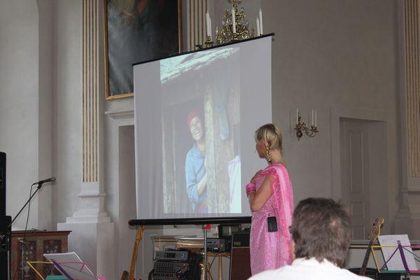 Christina berättar om Nepal